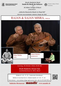 Raajan Saajan Misra Event October 28 2018 v6